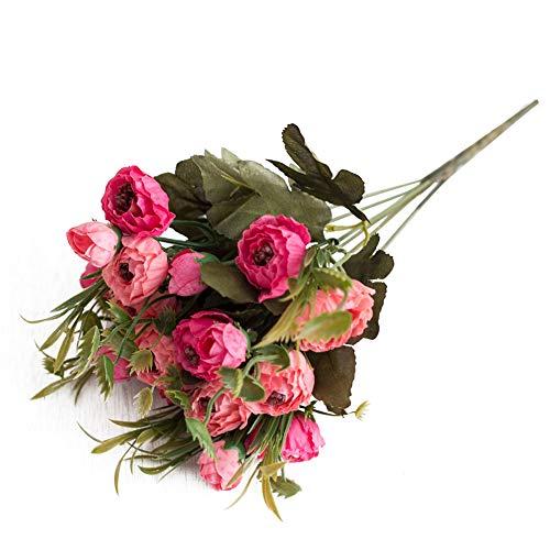 Blume, DIY Dekoration für Zuhause, Garten, Bühne, Hochzeit, Arrangement, Party und Tischdekoration - Pfirsichrosa Art Deco Peach pink ()