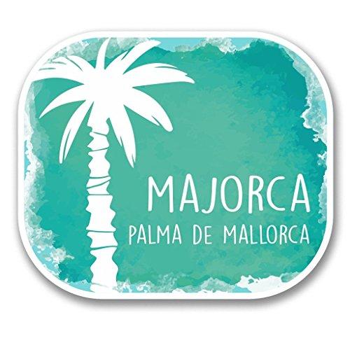Preisvergleich Produktbild 2 x 30cm/300mm Mallorca Palma Spanien Vinyl SELBSTKLEBENDE STICKER Aufkleber Laptop reisen Gepäckwagen iPad Zeichen Spaß #6329