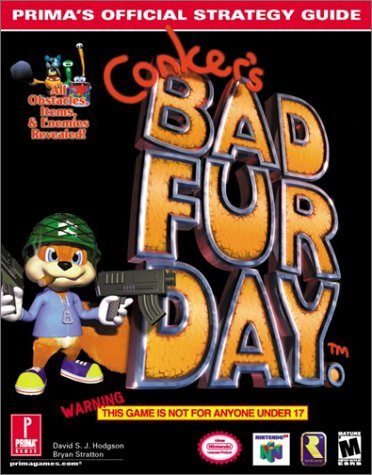 Conkers Bad Fur Day: Official Strategy Guide (Prima's Official Strategy Guides) by...