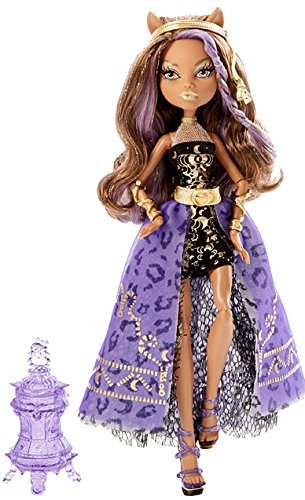 Monster Puppen Geist High (Mattel Monster High Y7705 -  13 Wünsche Party Clawdeen, Puppe)