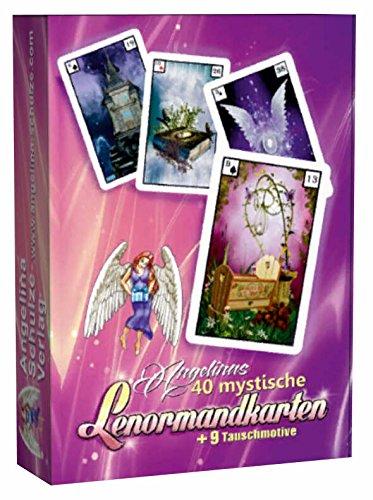 Angelinas 40 mystische Lenormandkarten + 9 Tauschmotive (2. Neuauflage) -