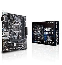 ASUS Prime H310M-A LGA1151 (300 Series) DDR4 HDMI VGA DVI ATX Motherboard