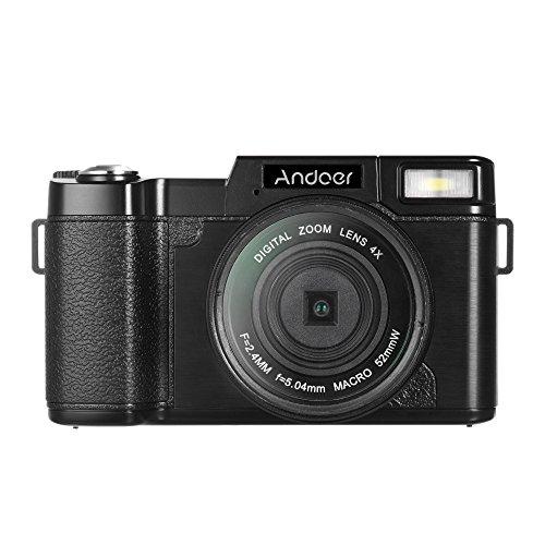 Andoer r1 digitale videocamera 1080p 15fps full hd 24mp fotocamera portatile della camma 3.0