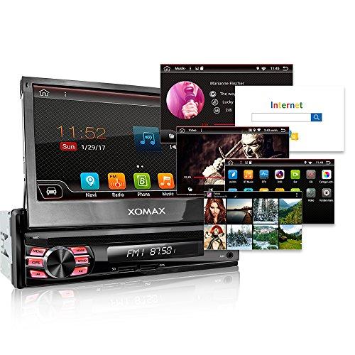 xomax xm da708 autoradio avec android 6 0 1 navigation gps cran tactile de 7 support. Black Bedroom Furniture Sets. Home Design Ideas
