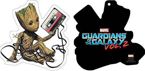 Preisvergleich Produktbild Guardians Of The Galaxy, BABY GROOT WITH CASSETTE, Officially Licensed - Air Freshener