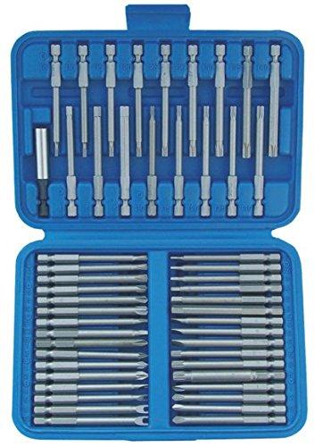 "SW-Stahl 04145L - Set inserti extra lunghi universali, 50 pezzi, inserti standard e speciali da 1/4"""