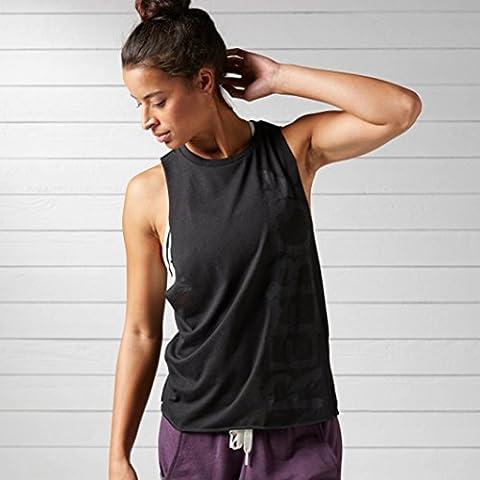 Reebok Women's Yoga Muscle Tank - Black, X-Large