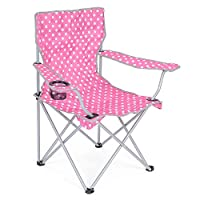 Folding Camping Chair Lightweight Beach Festival Outdoor Travel Seat Polka Dot