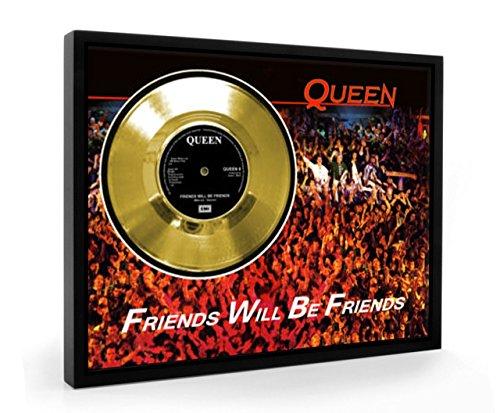 Queen Friends Will Be Friends Framed Disco de Oro Display Vinyl (C1)