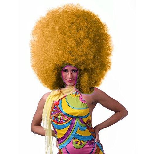 Sepia Costume Hifro Synthetic Wig - Orange
