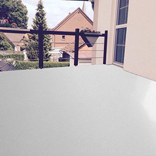 Bodenbeschichtung (Außen) Epoxidharz Bodenfarbe (5m²) (RAL 7035 Lichtgrau)