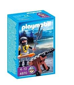 Playmobil - 4870 - Jeu de construction - Canonnier des chevaliers du Lion