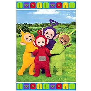 Amscan International - 9901193 Teletubbies plástico bolsa de botín