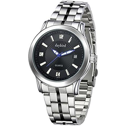 Orologi meccanici uomo/Impermeabile orologio da uomo in acciaio/ diamante orologio-E