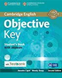 Cover of: Objective Key Student's Book with Answers with CD-ROM with Testbank | Annette Capel, Wendy Sharp
