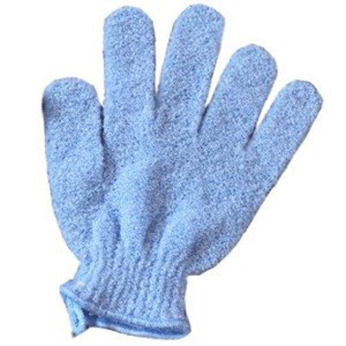 katy-craig-paio-di-guanti-esfoliante-corpo-blu-taglia-unica
