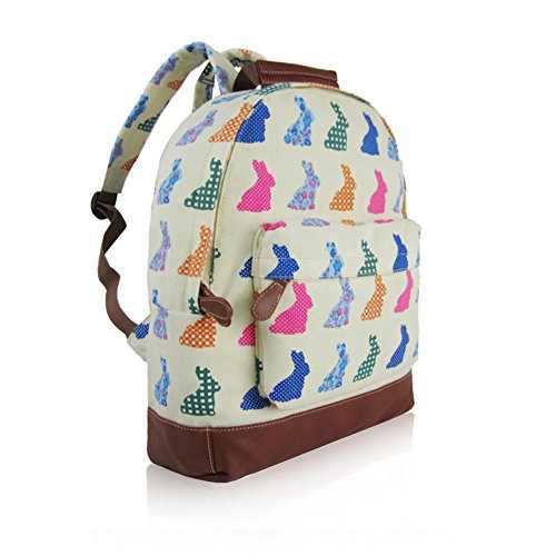 Craze London, Borsa a zainetto donna Beige