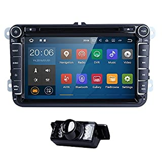Android 7.1 VW CAR in Dash RADIO DVD Player fit for Jetta Passat Golf Polo Tiguan Quad Core System