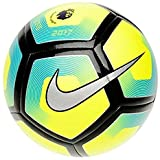 Nike Pitch Premier League Football 2017 Size 5 Yellow/Blue