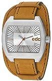 edc by Esprit Herren Armbanduhr Tough Belt braun