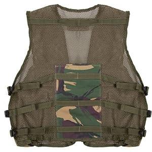 Veste d'assaut de camouflage de l'armée - Convient aux enfants de 5 à 14 ans