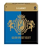 Rico 3.0 Strength Grand Concert Select Reeds for Eb Clarinet (Pack of 10)