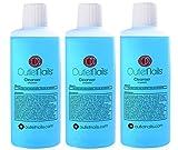 3 x Cleaner para Gel 100ml Aroma Coco - Eliminar la capa pegajosa de geles UV y Led / Esmaltes permanentes / Shellac / Esmaltado Permanente / Cleanser para uñas de gel