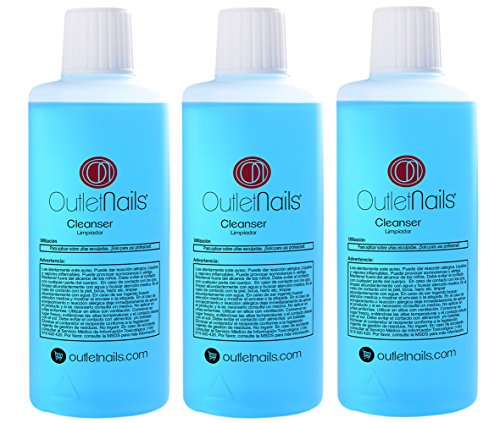 3 x Cleaner 100ml uñas gel / Aroma Coco / Eliminar