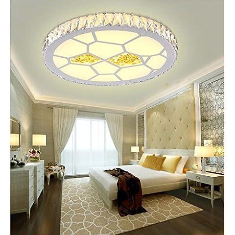 NHD-Led Crystal light square living room lamp,