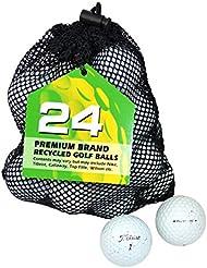 Titleist Pro V1 Lake - Bolas de golf reciclada, color blanco