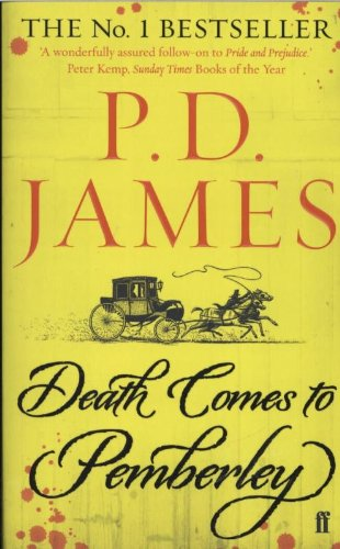 Death Comes to Pemberley. English edition.