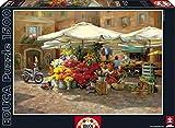 Puzzles Educa - Mercado de flores, puzzle de 1500 piezas (16010)
