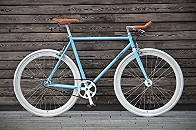Foffa Single Speed Urban Bike - Azure, 56 cm