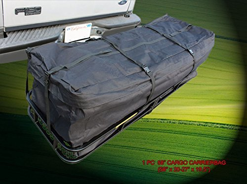 Expendable 58' Cargo Carrier Bag Water Proof Hitch Mount Luggage Roof Top Rack by Fedar