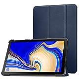 MoKo Cover per Samsung Galaxy Tab S4 10.5 SM-T830N/T835N,Ultra Sottile Leggero Supporto Custodia per Samsung Galaxy Tab S4 10.5 SM-T830N/T835N Tablet(Auto Sveglia/Sonno), Indaco