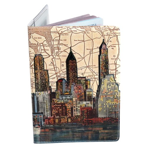 Porta Pasaportes – Horizonte De New York City (Nyc)