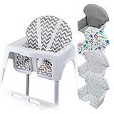 Monsieur Bébé  Housse d'assise pour chaise haute enfant gamme Délice - 5 coloris -...