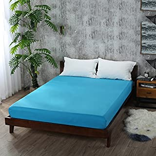 FHFGHYURBNYFGHFBY Pure Color Bed/tagesdecke einzelnes stück/matratze Cover Cover/Anti-rutsch-Bett-U 180x200cm(71x79inch)