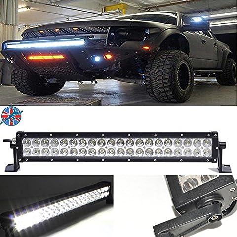 53,3cm LED fahren Licht Bar 120W 6000K Spot Flood Combo Beam Arbeit Lampe für Autos SUV Offroad Truck 4WD Boot