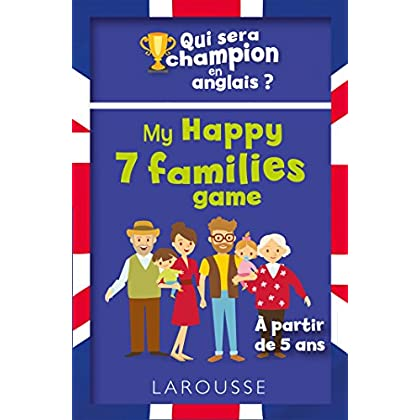 Qui sera le champion en anglais ? My Happy 7 families game
