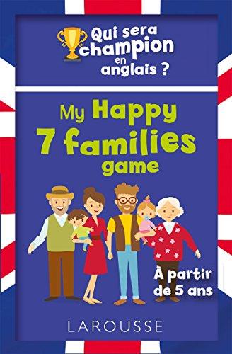Qui sera le champion en anglais ? My Happy 7 families game