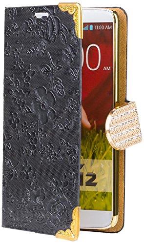 icues-lg-g2-chrom-blume-buch-schwarz-exklusives-design-mit-eingelassenen-strass-steinen-displayschut