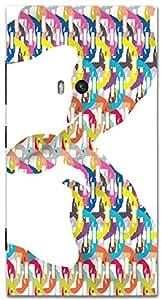 Timpax protective Armor Hard Bumper Back Case Cover. Multicolor printed on 3 Dimensional case with latest & finest graphic design art. Compatible with Nokia Lumia 920 Design No : TDZ-25719