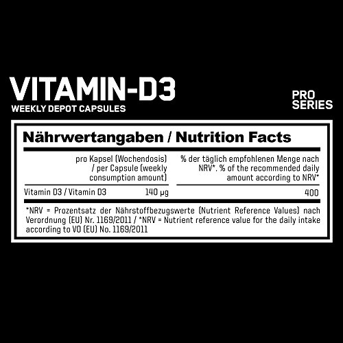 ESN Vitamin-D3, 120 Kaps. - 2