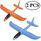 Ouinne 2 Piezas Planos de Espuma los Planeadores Glider Juguete...