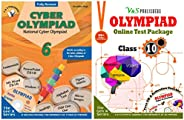 Olympiad Class 6 Online Practice Tests + Computers Book For NCO (Set Of 2 Books)