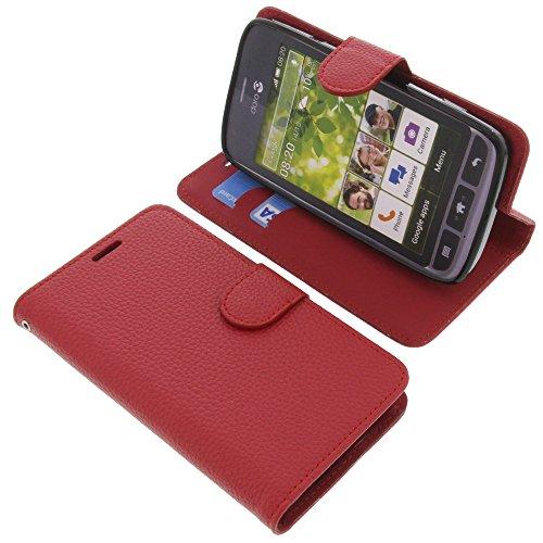 foto-kontor Tasche für Doro Liberto 820 Book Style rot Schutz Hülle Buch