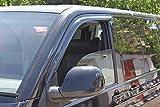 Autoclover pour Volkswagen Transporter T5/T6Déflecteurs d'air Lot (2pièces) (Fumé)