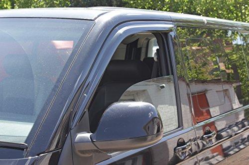 Autoclover VW Transporter T5/T6Windabweiser-Set (2Stück) (geräuchert)