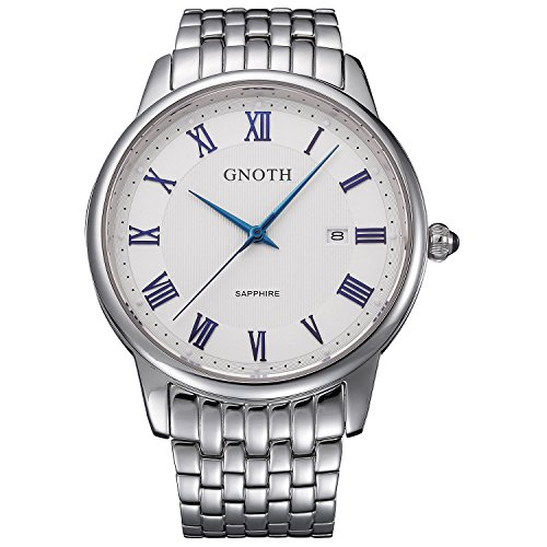 gnoth-mens-white-sapphire-stainless-steel-watch-with-date-roman-numeral-big-face